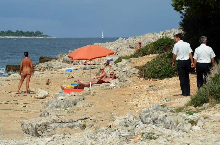 Rovinj punta kriz Punta Corrente